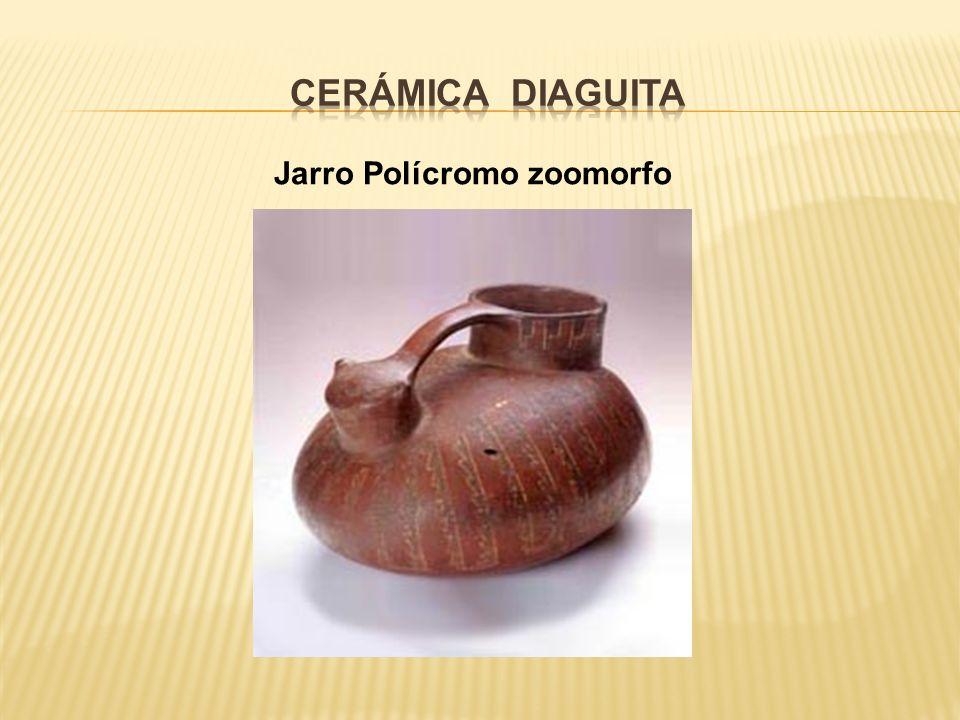 Jarro Polícromo zoomorfo