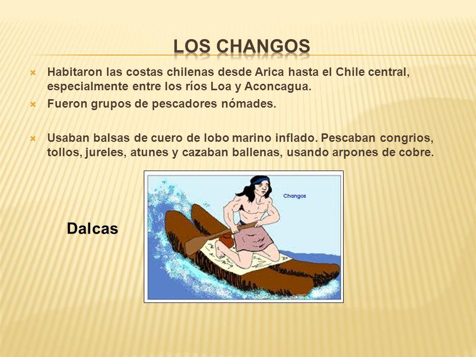 Habitaron las costas chilenas desde Arica hasta el Chile central, especialmente entre los ríos Loa y Aconcagua.