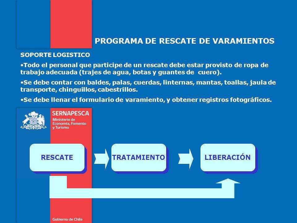 PROGRAMA DE RESCATE DE VARAMIENTOS FICHA RESUMIDA