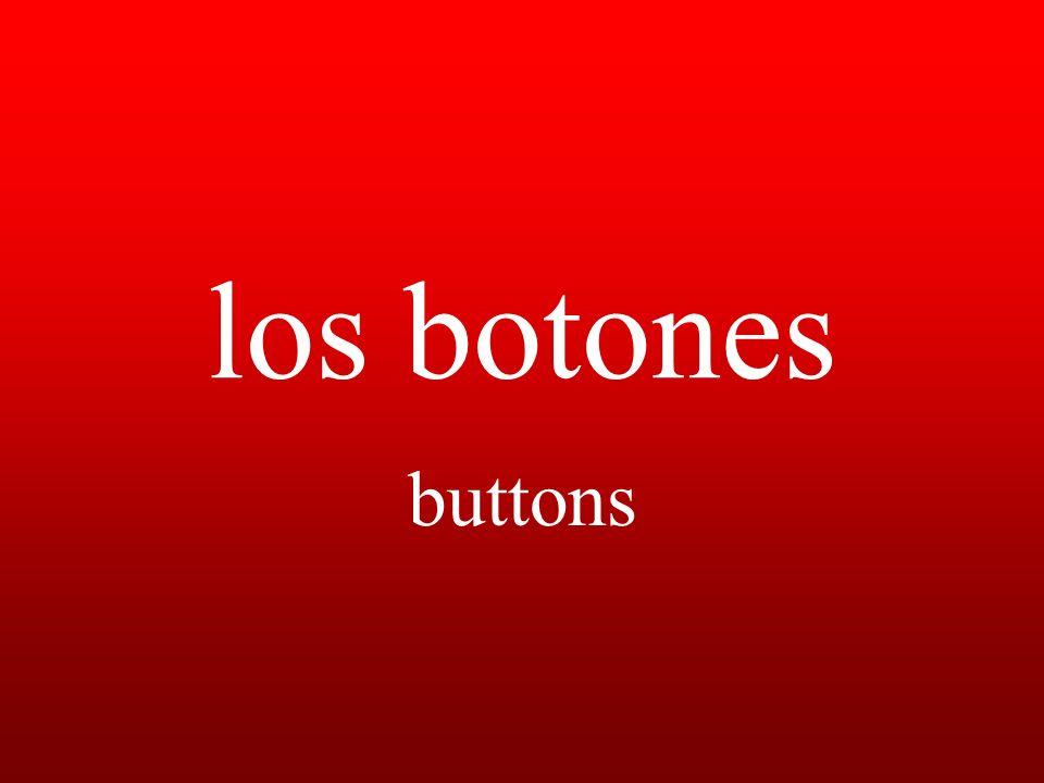 los botones buttons