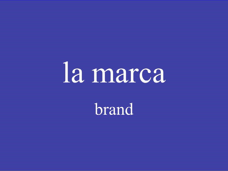 la marca brand