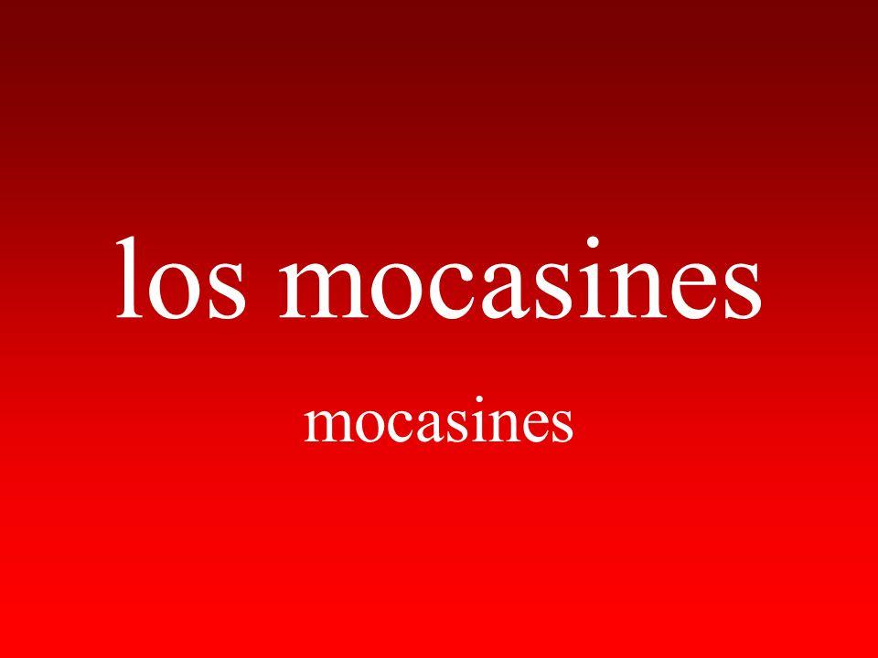 los mocasines