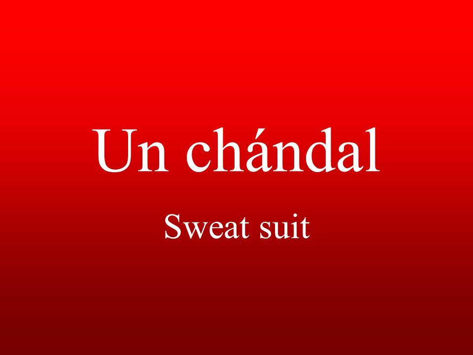 Un chándal Sweat suit