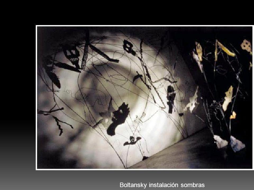 Boltansky instalación sombras