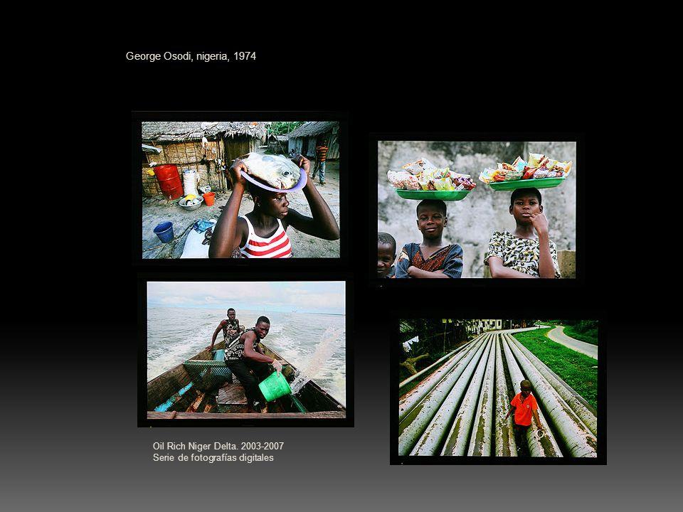 George Osodi, nigeria, 1974 Oil Rich Niger Delta. 2003-2007 Serie de fotografías digitales