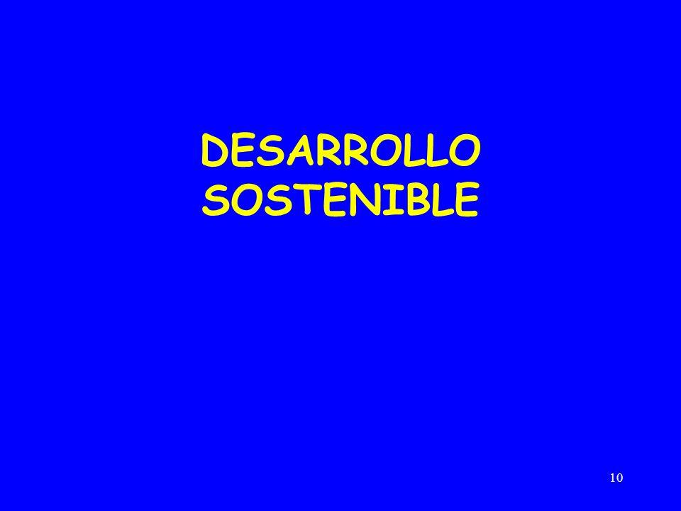 10 DESARROLLO SOSTENIBLE