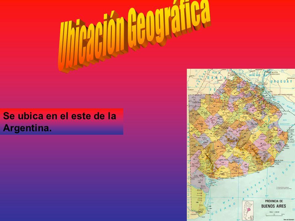 Se ubica en el este de la Argentina.