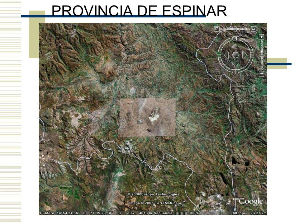 POBREZA EXTREMA PROVINCIA DE ESPINAR AÑO 2003