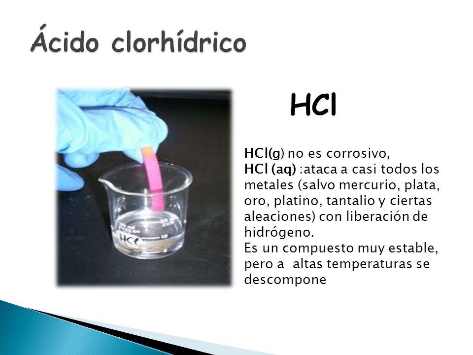 El ácido nítrico es un líquido incoloro y corrosivo y un ácido tóxico que puede causar quemaduras severas. El ácido nítrico, en su estado gaseoso se e