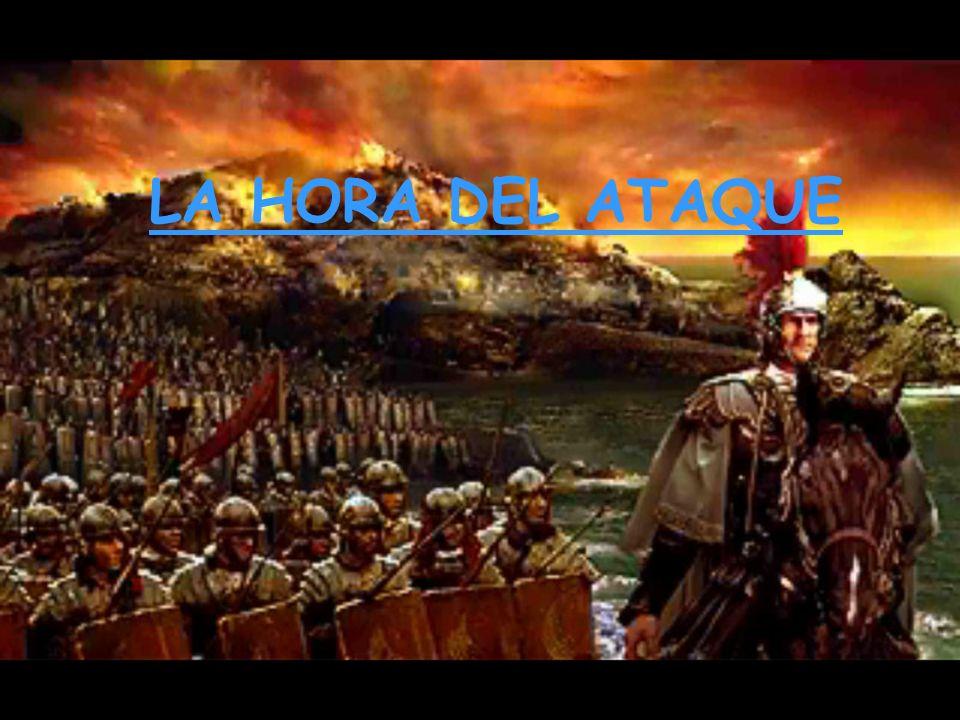 El ejército en marcha (agmen, -inis): Los soldados iban cargados con su impedimenta personal (sarcina, -ae) y formados: primum agmen: la vanguardia o primera línea.