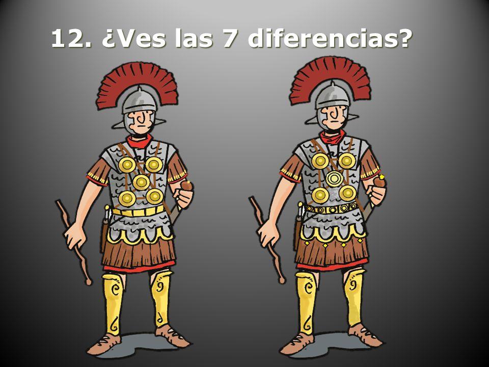 12. ¿Ves las 7 diferencias?