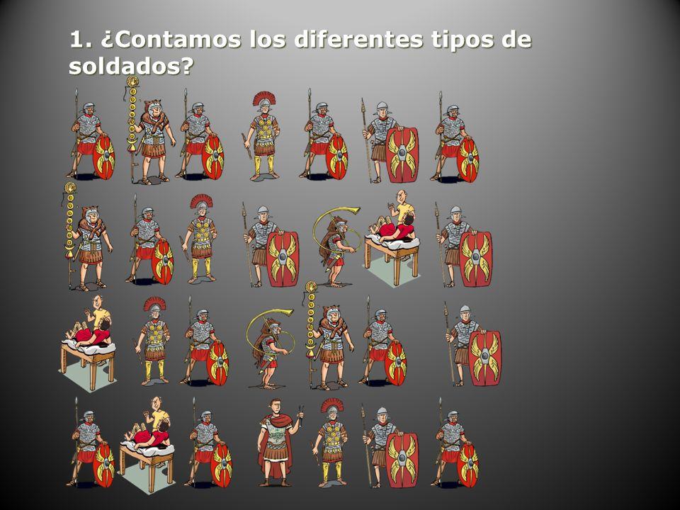 1. ¿Contamos los diferentes tipos de soldados?