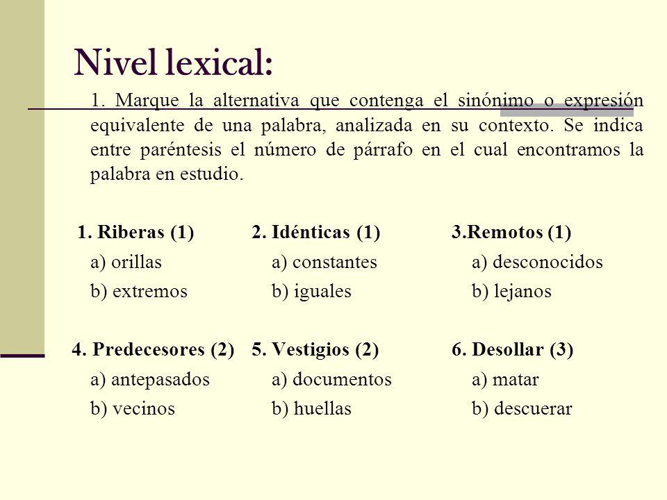 7.Odre (3)8. Arcilla (4)9.