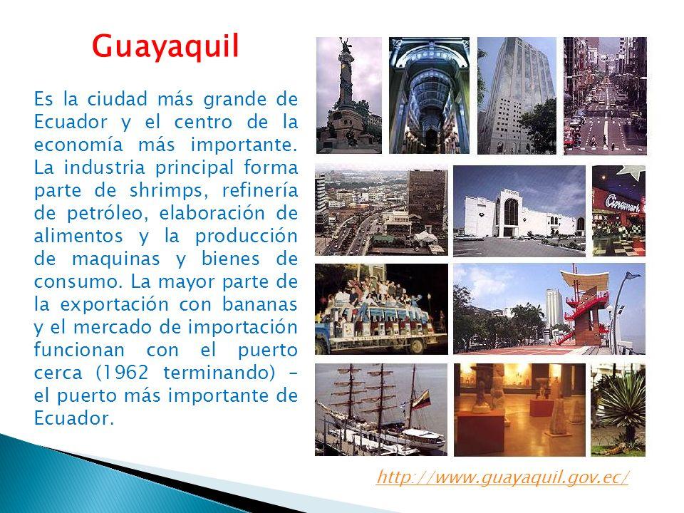 La isla Santay se encuentra en el río Guayas a 800 metros de distancia de la ciudad de Guayaquil.