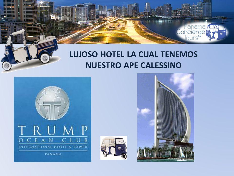 LUJOSO HOTEL LA CUAL TENEMOS NUESTRO APE CALESSINO