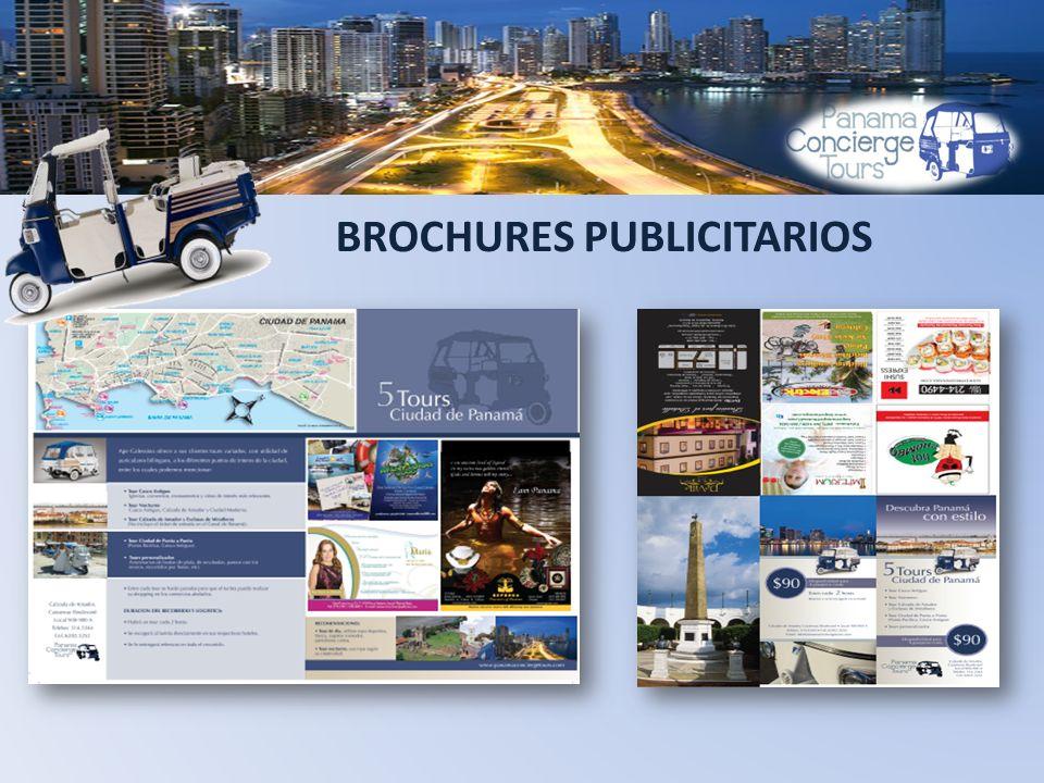 BROCHURES PUBLICITARIOS