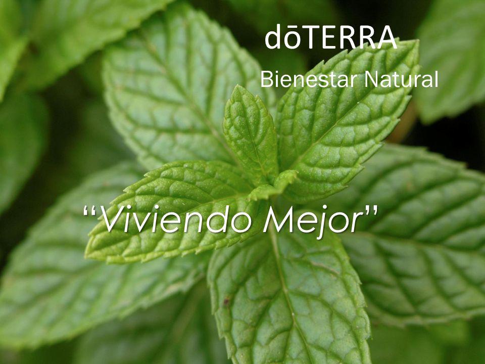 Bienestar Natural Viviendo MejorViviendo Mejor dōTERRA