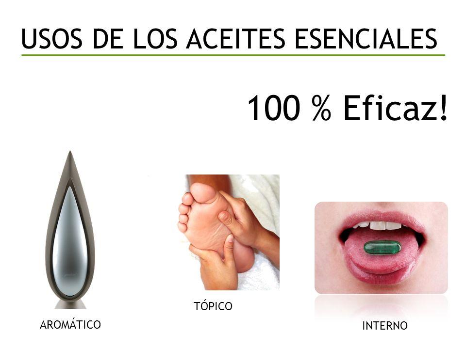 USOS DE LOS ACEITES ESENCIALES AROMÁTICO TÓPICO INTERNO 100 % Eficaz!
