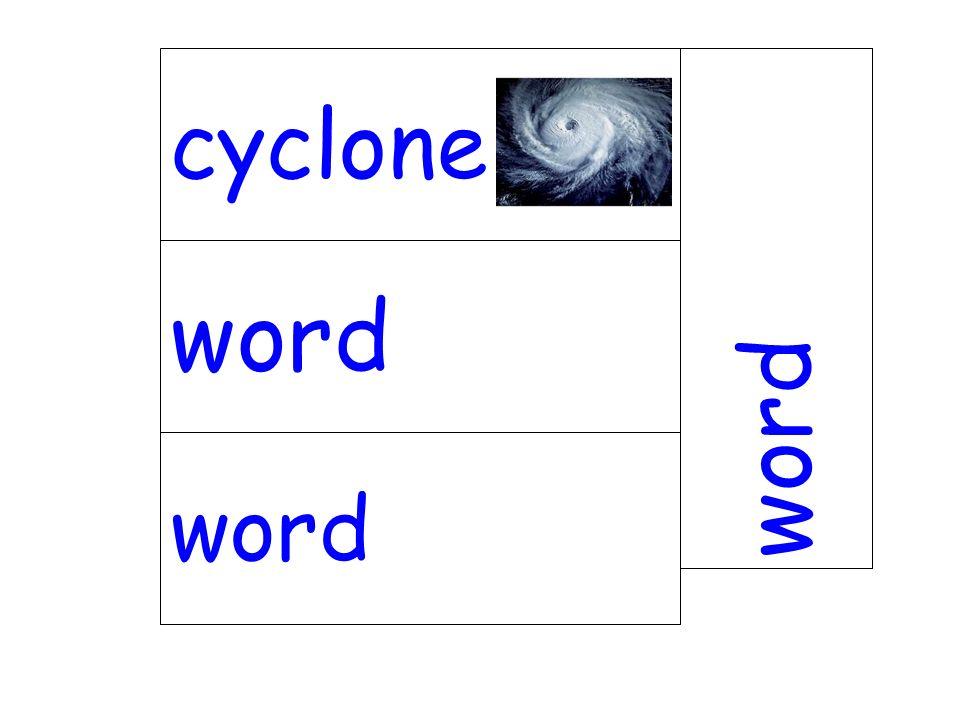 word cyclone