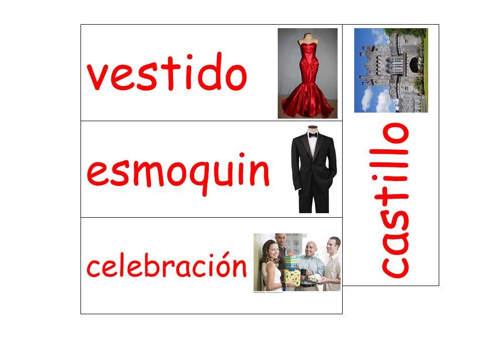 esmoquin castillo celebración vestido