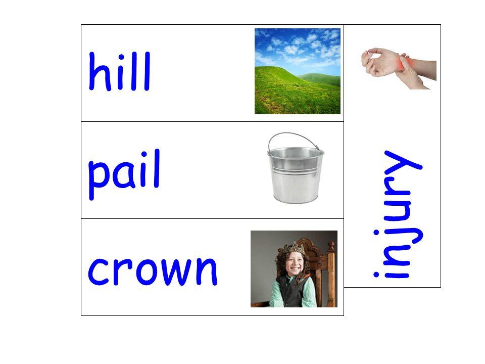 pail injury crown hill