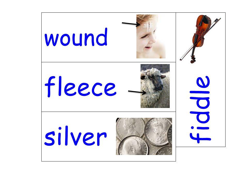 fleece fiddle silver wound