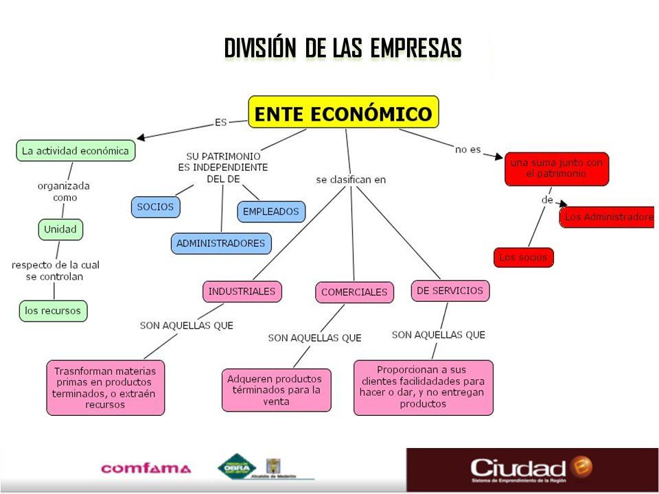 DIVISIÓN DE LAS EMPRESAS