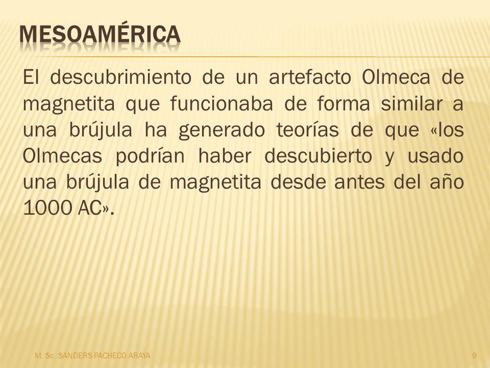 El descubrimiento de un artefacto Olmeca de magnetita que funcionaba de forma similar a una brújula ha generado teorías de que «los Olmecas podrían haber descubierto y usado una brújula de magnetita desde antes del año 1000 AC».