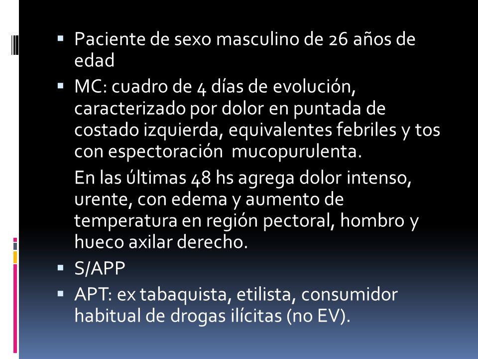 Miositis estafilocócica: Países tropicales (piomiocitis tropical) Infección localizada que llega a formar absceso Puede producirse afectación a distancia con manifestaciones como empiema, pericarditis y abscesos pulmonares.
