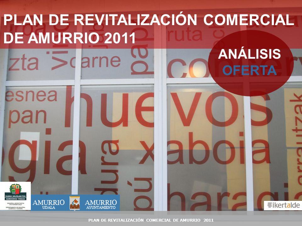 1 PLAN DE REVITALIZACIÓN COMERCIAL DE AMURRIO 2011 ANÁLISIS OFERTA