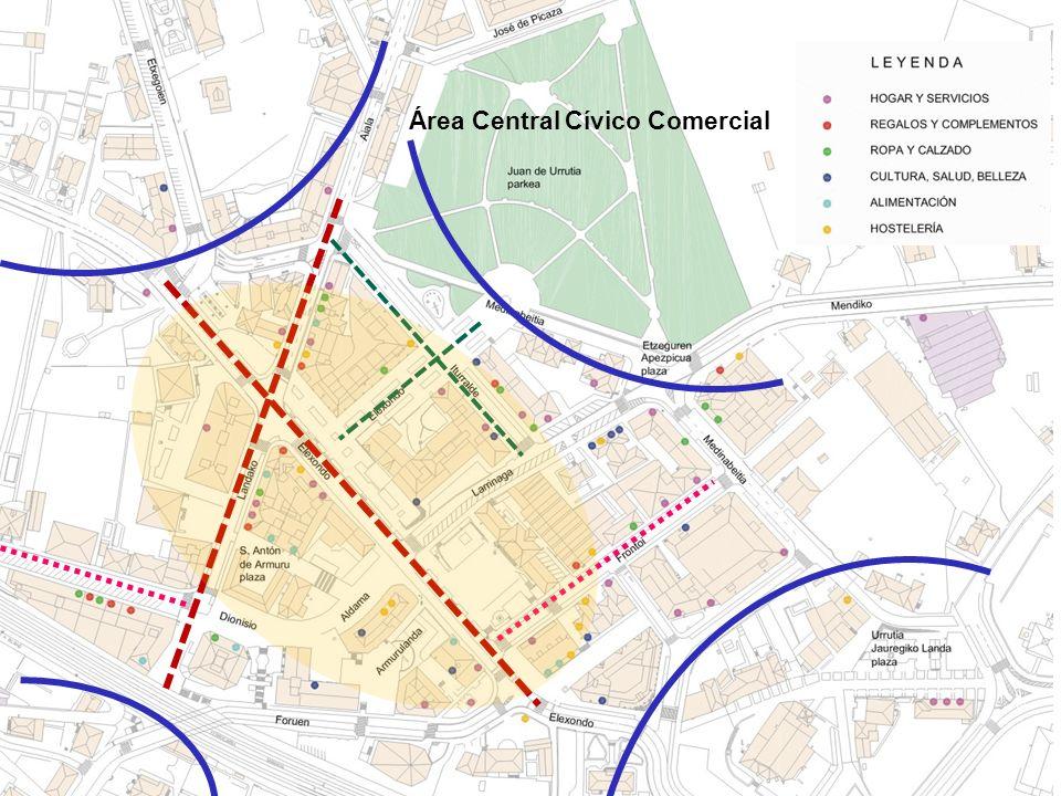 16 Área Central Cívico Comercial