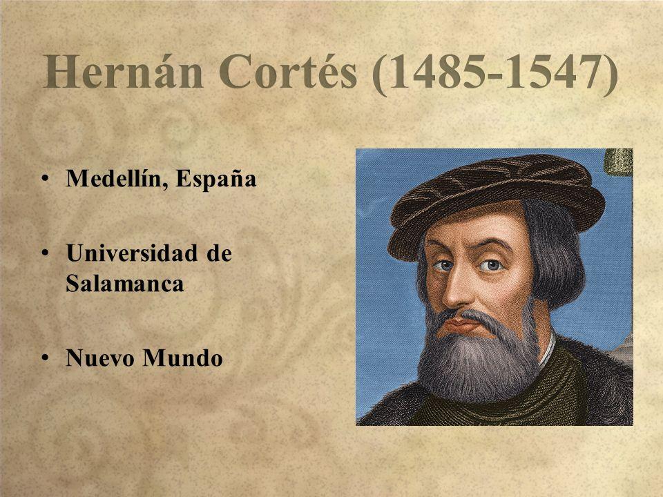 Medellín, España Universidad de Salamanca Nuevo Mundo