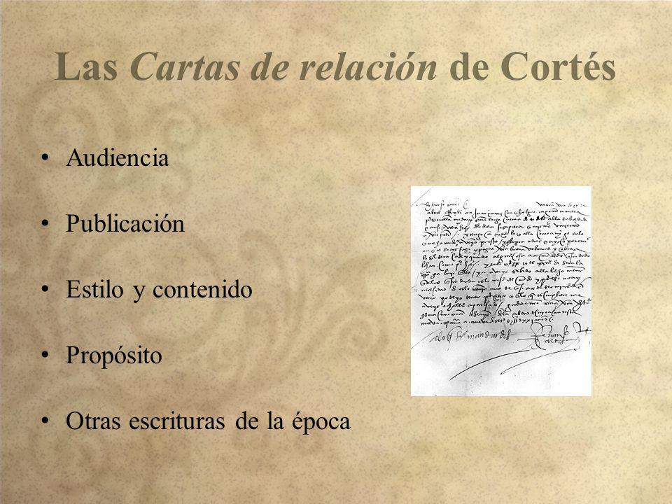 Audiencia Publicación Estilo y contenido Propósito Otras escrituras de la época