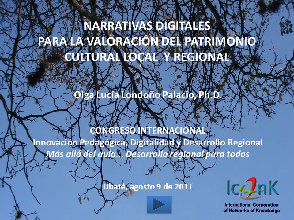 Olga Lucía Londoño Palacio, Ph.D. CONGRESO INTERNACIONAL Innovación Pedagógica, Digitalidad y Desarrollo Regional Más allá del aula... Desarrollo regi