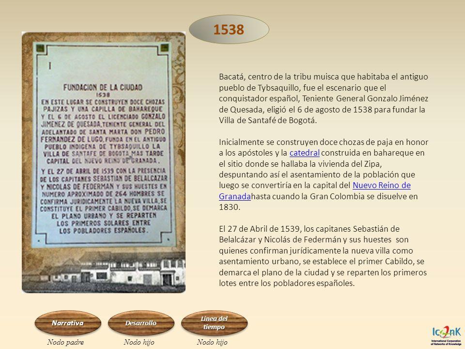 Bacatá, centro de la tribu muisca que habitaba el antiguo pueblo de Tybsaquillo, fue el escenario que el conquistador español, Teniente General Gonzal