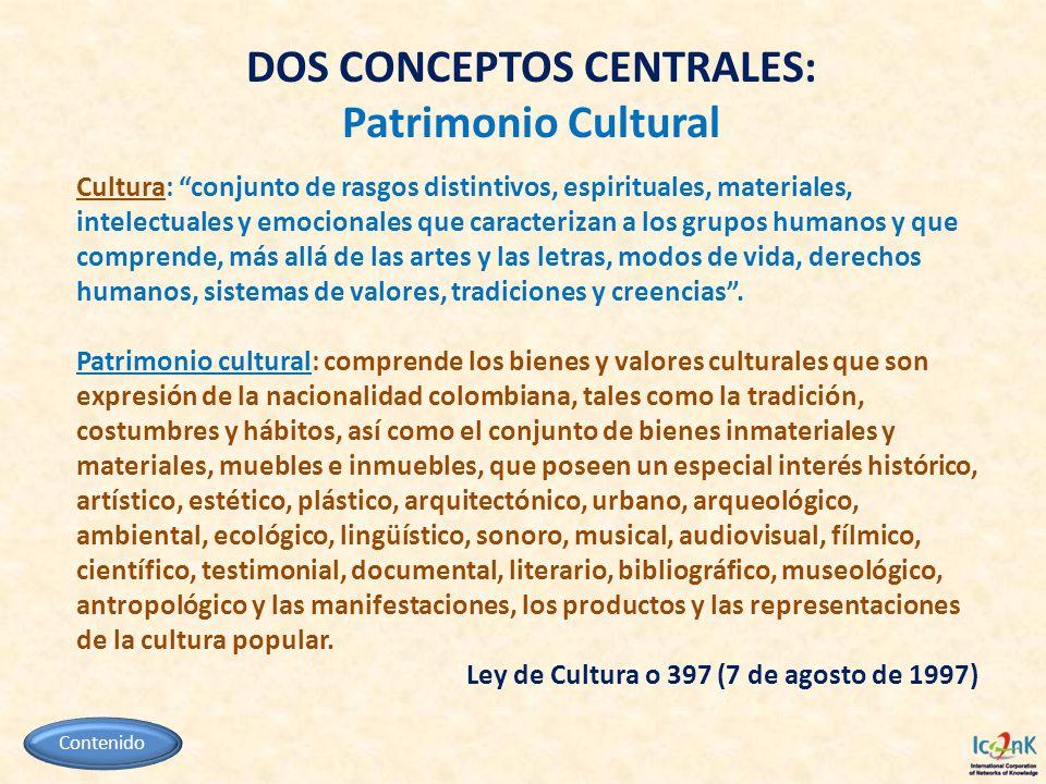 Cultura: conjunto de rasgos distintivos, espirituales, materiales, intelectuales y emocionales que caracterizan a los grupos humanos y que comprende,