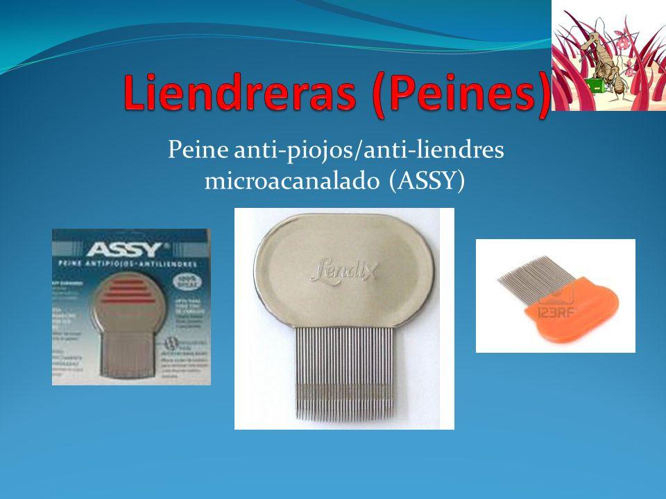 Peine anti-piojos/anti-liendres microacanalado (ASSY)