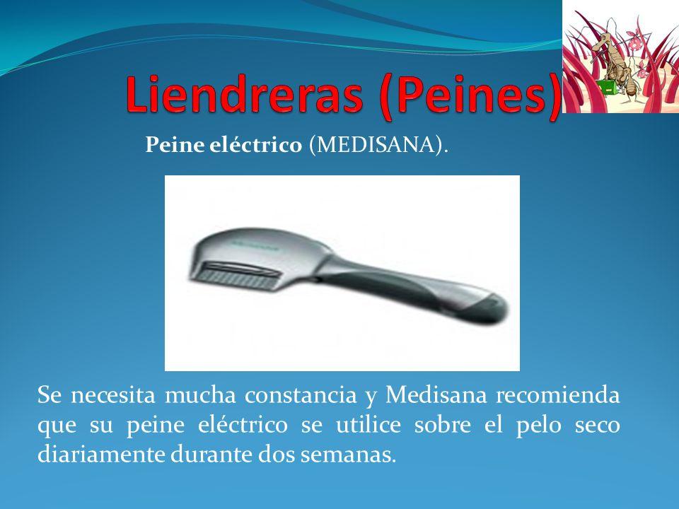 Se necesita mucha constancia y Medisana recomienda que su peine eléctrico se utilice sobre el pelo seco diariamente durante dos semanas. Peine eléctri