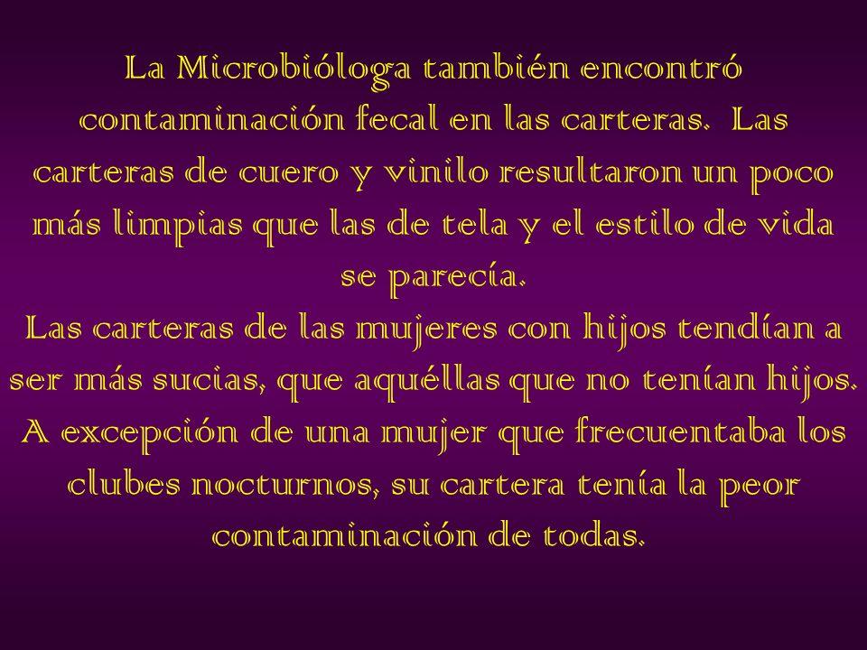 SALMONELLA Y E.COLI, puede causar graves enfermedades.