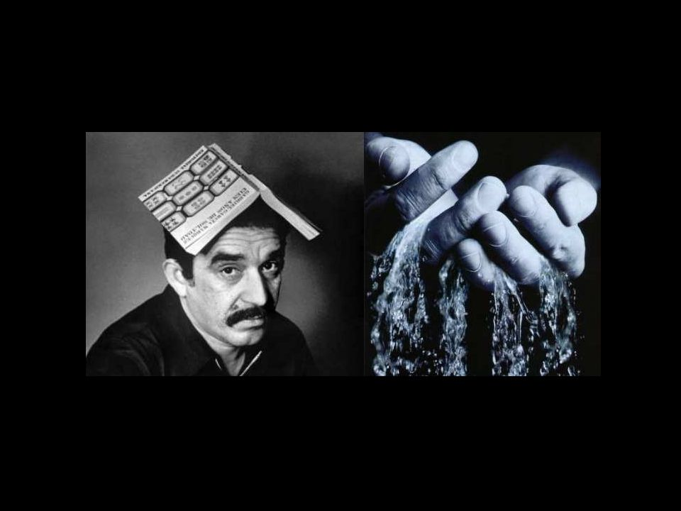 El popular Gabo (Gabriel García Márquez), el hombre que podía haber hecho tanto por la nutrición de sus paisanos colombianos y de los hambrientos del