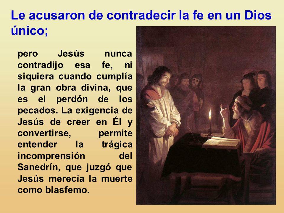 Jesús fue acusado de hostilidad hacia al Templo. Sin embargo, lo veneró como la casa de su Padre (Jn 2, 16), y allí impartió gran parte de sus enseñan