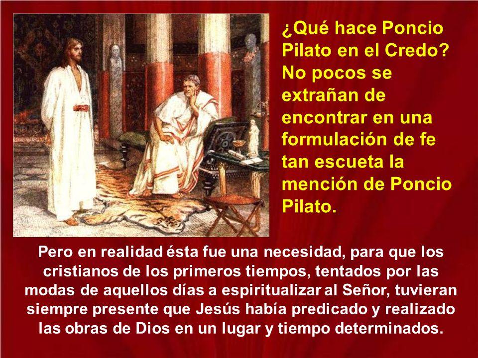 A pesar de que Pilato era quien tenía el poder, toda la administración y la política interna estaba en manos de los judíos, a través del Sanedrín.