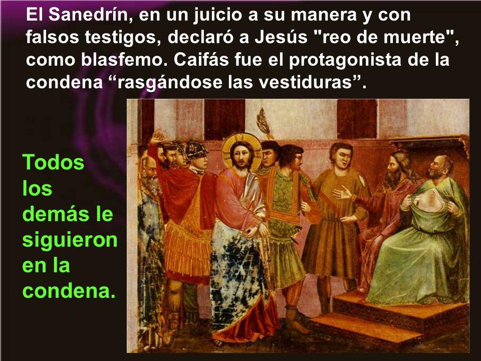 Este Sanedrín era también la corte suprema de justicia, después de Roma. Podía decidir sobre todas las cuestiones, menos condenar a muerte a una perso