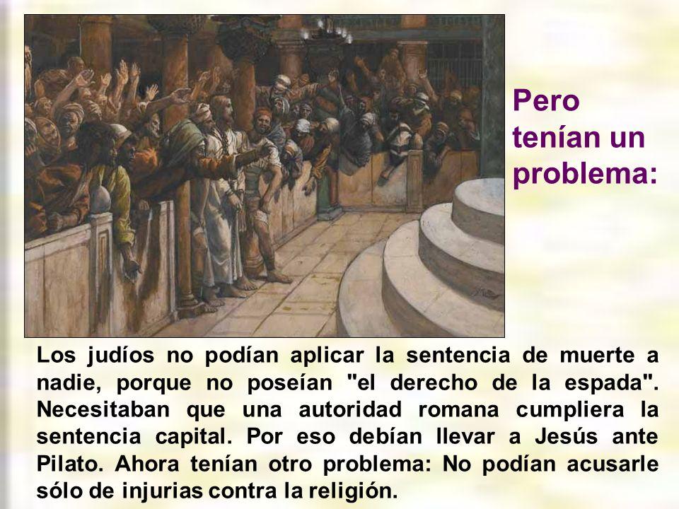 El Sanedrín, en un juicio a su manera y con falsos testigos, declaró a Jesús