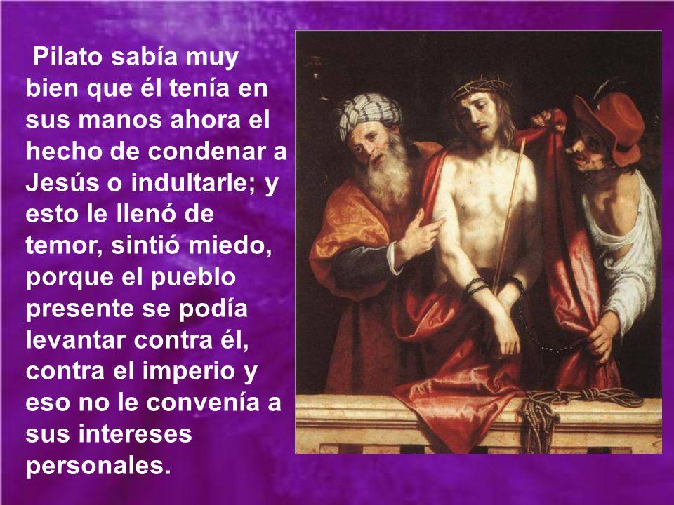 El clamor iba en aumento, y esto indudablemente aturdió a Pilato. Los acusadores pedían la crucifixión de Jesús, porque querían verlo sufrir, querían