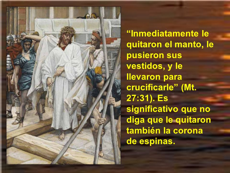 Lo último fue la denuncia de que, si le indultaba, le acusarían al César. Aquí Pilato mostró su cobardía o su atadura al puesto político. Así que se l