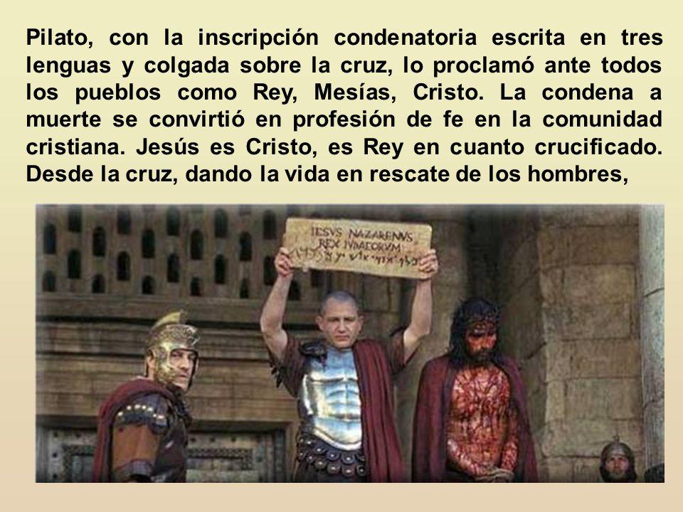 Inmediatamente le quitaron el manto, le pusieron sus vestidos, y le llevaron para crucificarle (Mt. 27:31). Es significativo que no diga que le quitar