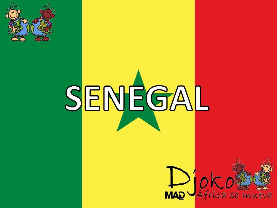 Descripción General Situación Geográfica Situada al Oeste del continente africano hace frontera al Norte con Mauritania, al Este con Mali, al Sur Oeste con Guinea- Bissau, al Sur Este con Guinea y al Oeste con el Océano Atlántico y con Gambia que se adentra 300km hacia el Este de Guinea.