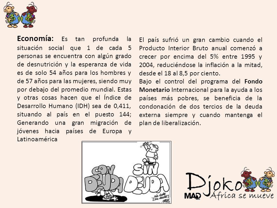 Condonación: En 2005 el Consejo de Ministros de España acordó una condonación adicional a los países HIPC que alcancen el punto de culminación, como ocurre con Senegal, que se beneficia de una condonación de hasta un límite máximo de 1.956.418,95 euros.