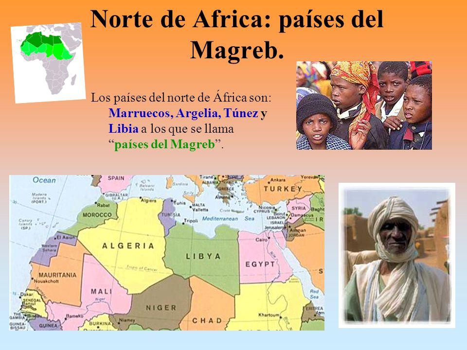 Los países del Magreb miran todos al mar Mediterráneo.